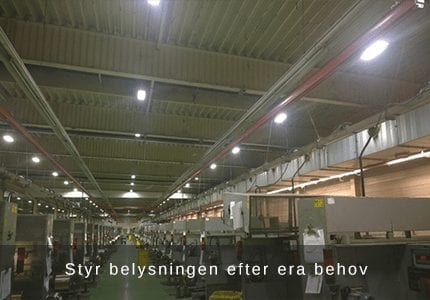 SES Lighting - LED belysning med fjärrkontroll